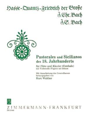 Pastorales und Sicilianos des 18. Jh.s - Flöte Klavier - laflutedepan.com