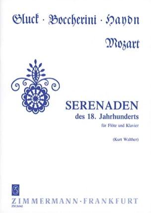 Kurt Walther - Serenaden des 18. Jahrhunderts - Flöte Klavier - Partition - di-arezzo.fr