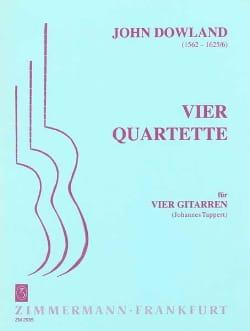 4 Quartette -4 Gitarren - DOWLAND - Partition - laflutedepan.com