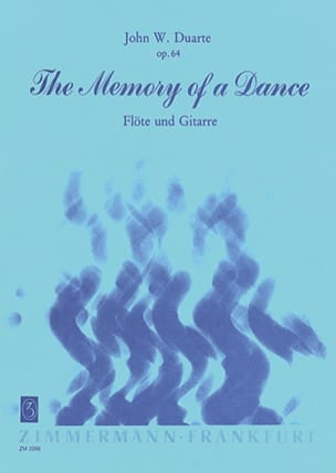 John W. Duarte - The Memory of a Dance op. 64 - Partition - di-arezzo.fr