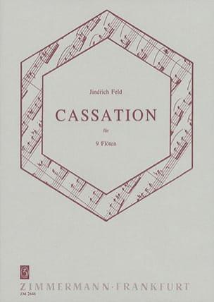 Jindrich Feld - Cassation für neun Flöten - Partition - di-arezzo.fr