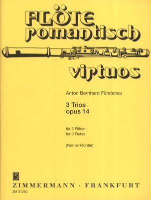 Anton Bernhard Fürstenau - 3 Trios op. 14 - 3 Flöten - Partition - di-arezzo.fr