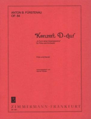 Anton Bernhard Fürstenau - Konzert D-Dur op. 84 – Flöte Klavier - Partition - di-arezzo.fr