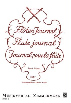 Journal de la Flûte Volume 1 - Partition - laflutedepan.com