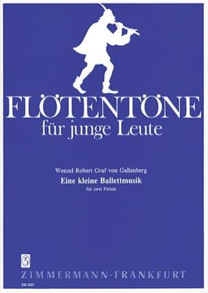 Eine kleine Ballettmusik - 2 Flöten - laflutedepan.com