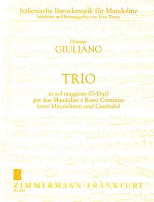 Trio G-Dur Für 2 Mandolinen Und B.C. - laflutedepan.com