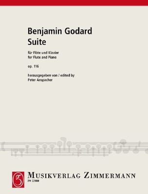 Benjamin Godard - Suite Op. 116 - Sheet Music - di-arezzo.co.uk