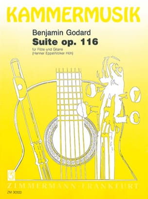 Suite op. 116 - Flöte Gitarre - Benjamin Godard - laflutedepan.com