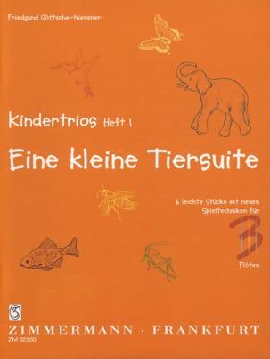 Friedgund Göttsche-Niessner - Kindertrios Volumen 1 - Partitura - di-arezzo.es