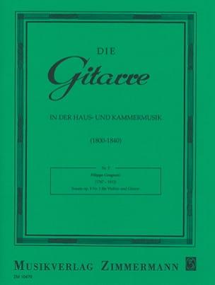 Filippo Gragnani - Sonate N° 2 Op. 8 - Partition - di-arezzo.fr
