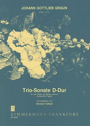 Johann Gottlieb Graun - Triosonate D-hard - 2 Flöten Bc - Sheet Music - di-arezzo.com
