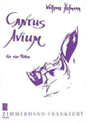 Cantus Avium – 4 Flöten - Wolfgang Hofmann - laflutedepan.com