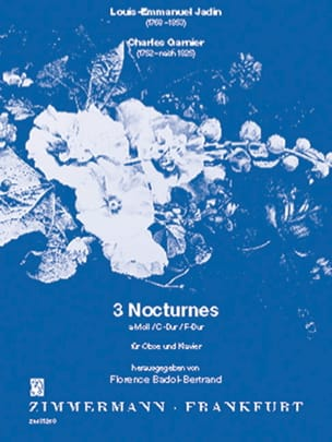 Jadin Louis Emmanuel / Garnier Charles - 6 Nocturnes Volume 2 - Partition - di-arezzo.fr