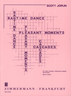 Ragtime dance - Pleasant moments - Cascades Scott Joplin laflutedepan
