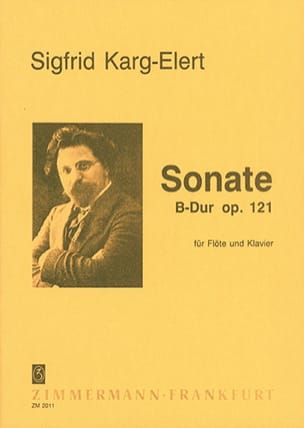 Sigfrid Karg-Elert - Sonata in Bb Major Op. 121 - Sheet Music - di-arezzo.com