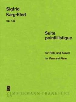 Sigfrid Karg-Elert - Suite Pointillistique Op. 135 - Partition - di-arezzo.fr
