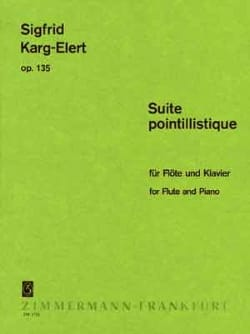 Sigfrid Karg-Elert - Pointillistic Suite Op. 135 - Sheet Music - di-arezzo.com