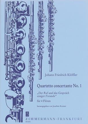 Quartetto Concertante n° 1 - 4 Flöten laflutedepan