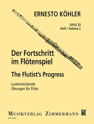 Der Fortschritt - Op. 33 Heft 2 Ernesto KÖHLER Partition laflutedepan