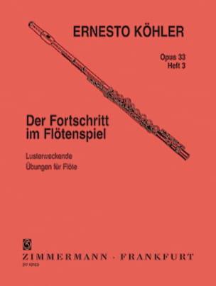 Ernesto KÖHLER - デルフォルトクリートOp。33 - Heft 3 - 楽譜 - di-arezzo.jp