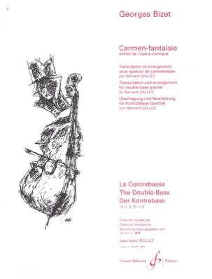 BIZET - Carmen-Fantasy - 4 Double Bass - Sheet Music - di-arezzo.co.uk