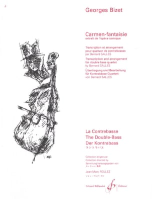 Carmen-Fantaisie - 4 Contrebasses - BIZET - laflutedepan.com