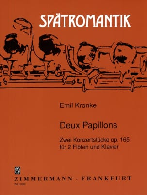 Emil Kronke - Two butterflies op. 165 - Sheet Music - di-arezzo.com
