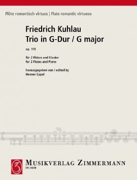 Friedrich Kuhlau - Trio in G Major Op 119 - Sheet Music - di-arezzo.com