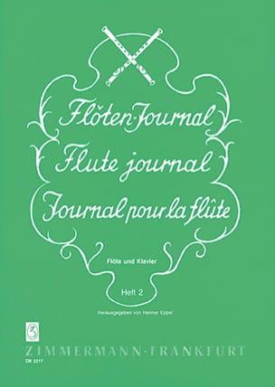 Henner Eppel - Flöten-Journal - Heft 2 -Flöte Klavier - Partition - di-arezzo.fr