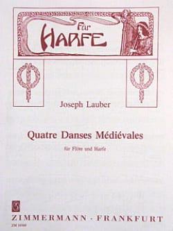 4 Danses Médiévales Op.45 - Joseph Lauber - laflutedepan.com