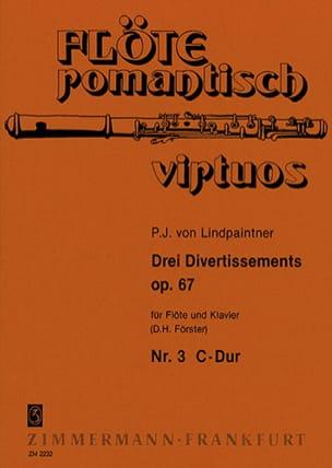 3 Divertissements op. 67 - Nr. 3 C-Dur- Flöte Klavier - laflutedepan.com