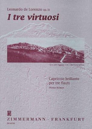 I tre virtuosi op. 31 (Partitur + Stimmen) – 3 Flöten - laflutedepan.com