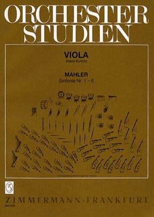 Orchesterstudien, Bd. 1 - Viola - Gustav Mahler - laflutedepan.com