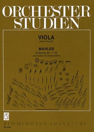 Gustav Mahler - Orchesterstudien, Bd. 2 - Viola - Partitura - di-arezzo.es