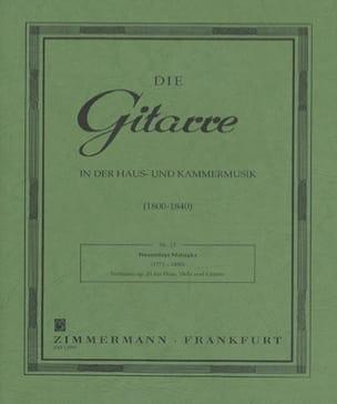 Wenzeslaus Matiegka - Notturno op. 21 - Flöte Viola Gitarre - Partitura - di-arezzo.it