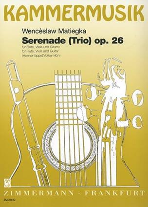 Wenzeslaus Matiegka - Serenade Trio op. 26 - Flöte Viola Gitarre - Noten - di-arezzo.de