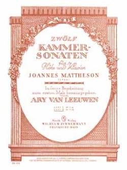 12 Kammersonaten - Heft 2 - Flöte Kalvier - laflutedepan.com