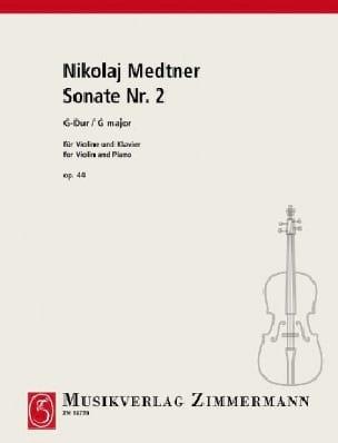 Sonate Nr. 2 G-Dur op. 44 - Nicolai Medtner - laflutedepan.com