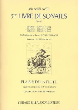 3ème Livre de Sonates, op. 3 (Volume 2) - Flûte et Bc - laflutedepan.com