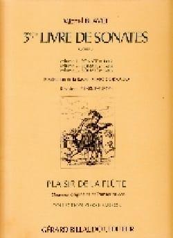 Sonates Op.3 N°5 et 6 - Vol.3 Michel Blavet Partition laflutedepan