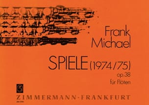 Frank Michael - Spiele für Flöten op. 38 1-15 Instrumente - Partition - di-arezzo.co.uk