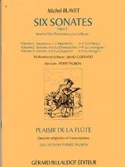 6 Sonates Op. 2 - Volume 1 - Michel Blavet - laflutedepan.com