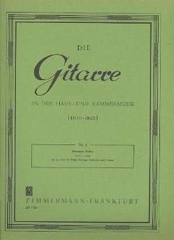 Francesco Molino - Trio für Flöte Violine, Viola und Gitarre op. 45 - Noten - di-arezzo.de