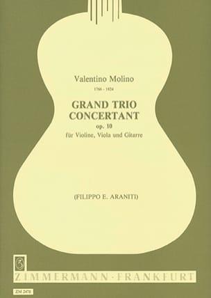 Valentino Molino - Grand trio concertant op. 10 - Stimmen - Sheet Music - di-arezzo.com