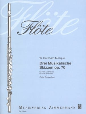 W. Bernhard Molique - 3 Musikalische Skizzen Op. 70 - Sheet Music - di-arezzo.co.uk