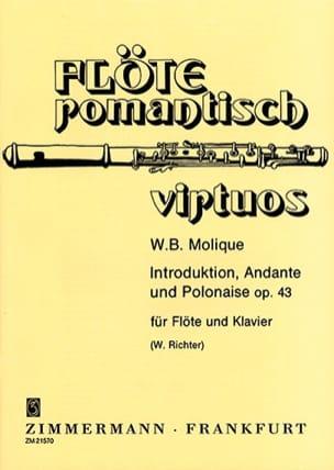 W. Bernhard Molique - Introduktion, Andante und Polonaise op. 43 - Partition - di-arezzo.fr