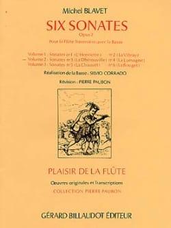 Michel Blavet - 6 Sonatas, op. 2 Volume 2 - Flute and Bc - Sheet Music - di-arezzo.com