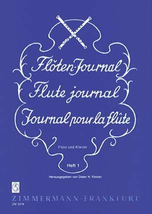 Flöten-Journal Volume 1 - Partition - di-arezzo.fr