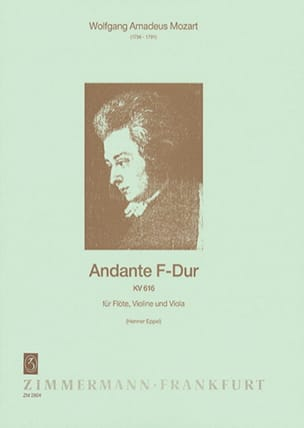 MOZART - Andante F-Dur Kv 616 - Sheet Music - di-arezzo.com