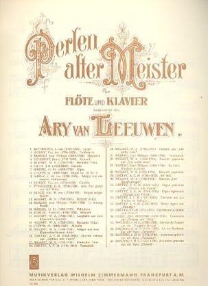 Deutscher Tanz - Flöte Klavier MOZART Partition laflutedepan